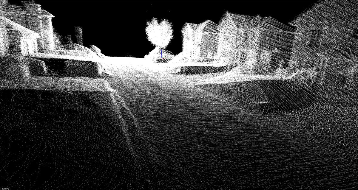 Geolocalised Point Cloud