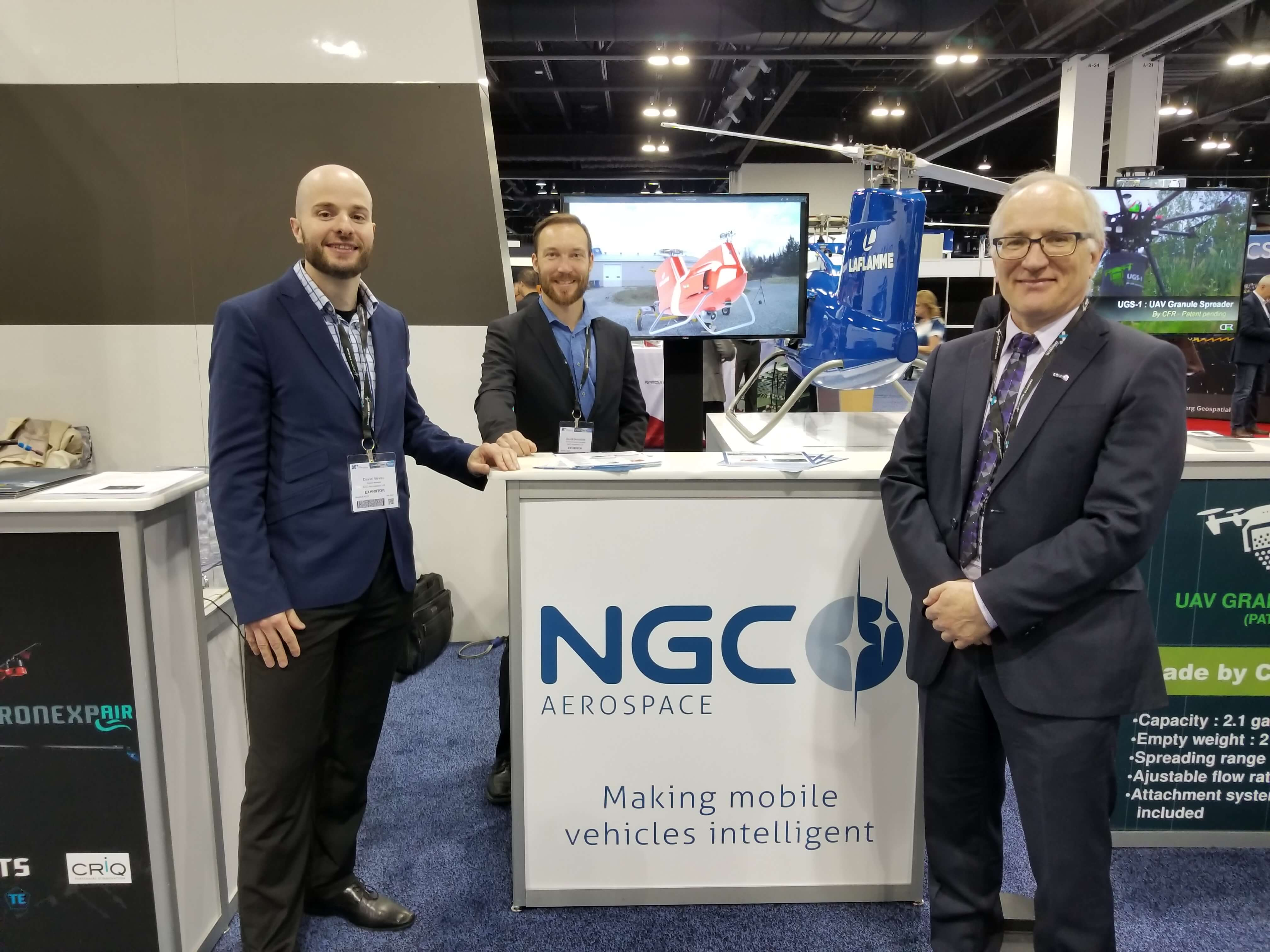 NGC booth à XPONENTIAL 2018