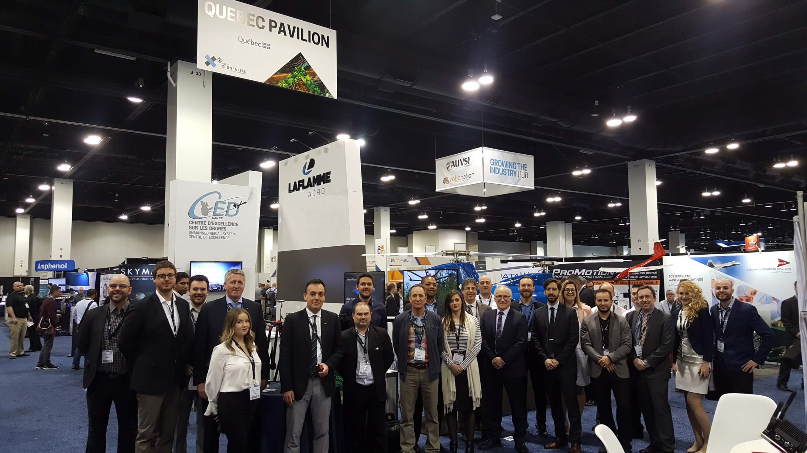 Quebec Delegation to AUVSI XPONENTIAL 2018